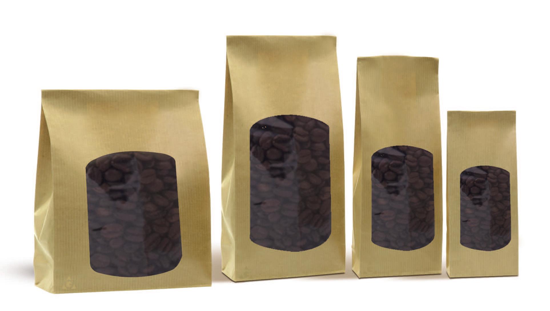 bolsas de papel kraft a base de hierbas