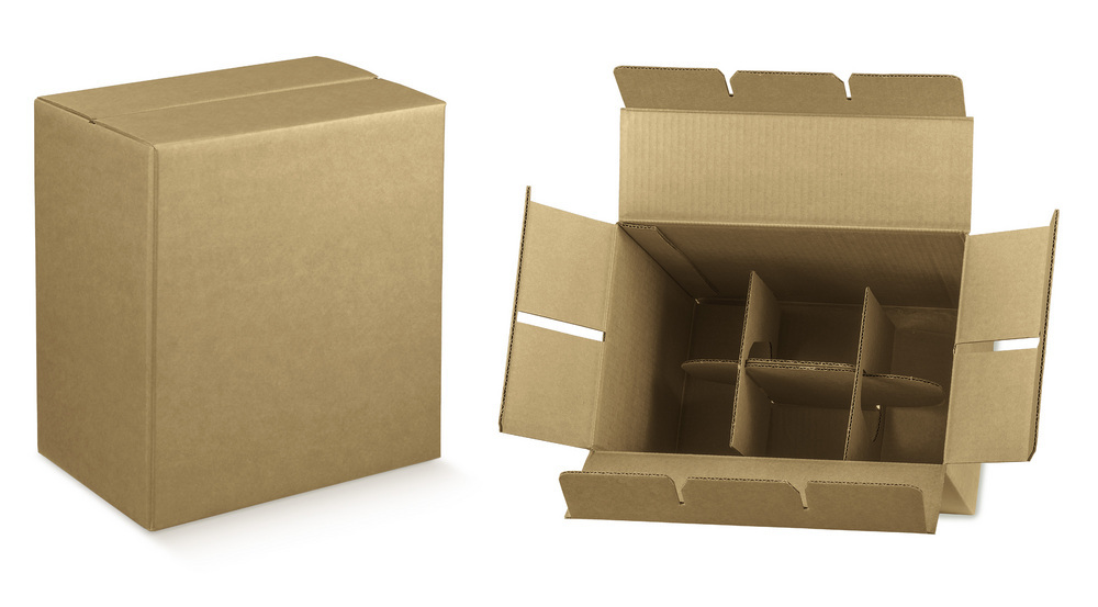 carton rapide 6 bouteilles ecobag store. Black Bedroom Furniture Sets. Home Design Ideas
