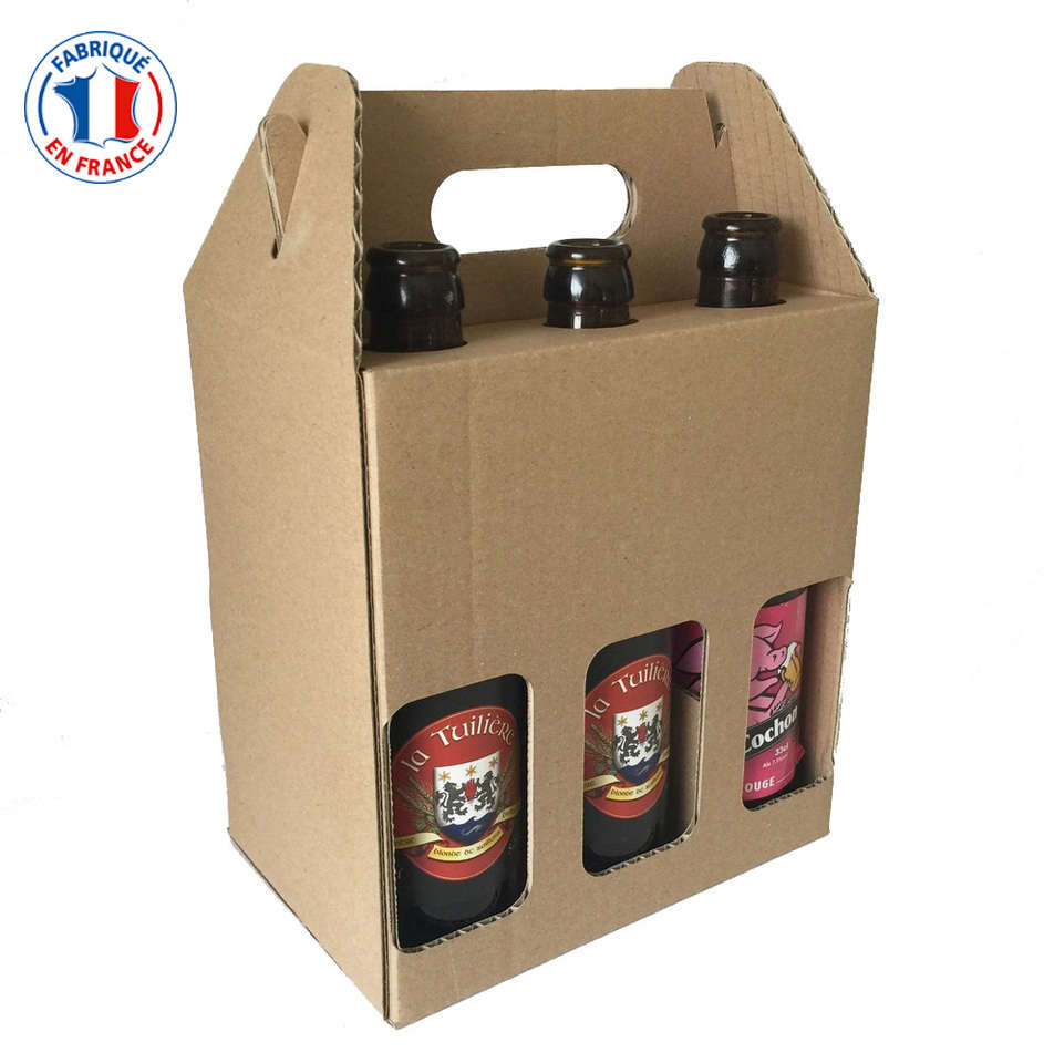 coffret carton 6 bouteilles de bi re 33cl ecobag store. Black Bedroom Furniture Sets. Home Design Ideas