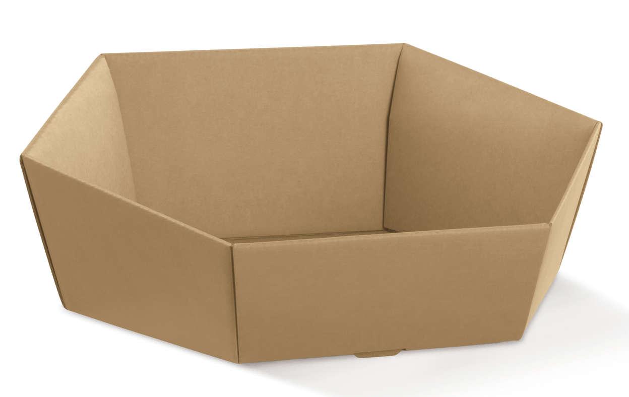 corbeille hexagonale avana ecobag store. Black Bedroom Furniture Sets. Home Design Ideas