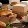 Boîtes Hamburger ''thepack'  220g  naturel  : Evènementiel