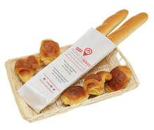 Sac à pain personnalisé : Sachets