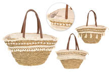 Lot de 3 sacs cabas COQUILLAGES :