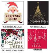 Etiquettes Joyeuses Fêtes : Spécial fêtes