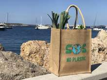 SOS NO PLASTIC - Sac jute 100% BIODEGRADABLE : Sacs