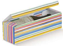 Carton 1 bouteille Multicolore : Bouteilles