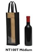 Sac bouteille en non tissé pour bouteilles de  37.5cl à 0.50 cl : Bouteilles