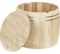 Coffret bois grand tonneau : Corbeilles & paniers