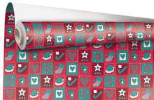 """Rouleau Papier cadeau """"Christmas"""" : Spécial fêtes"""