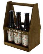 Serviteur 6 bières  : Bouteilles