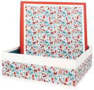 Boite Coffret  Carton Laponie  : Spécial fêtes