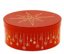 Boite à chapeau Ronde Christmas  : Spécial fêtes