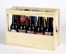 Coffret bois bières  : Bouteilles