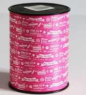 Bolduc Bonne fête Maman  : Accessoires emballages