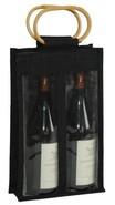 Sac jute 2 bouteilles75 cl : Bouteilles