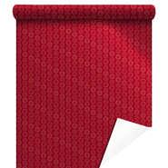Papier cadeaux métallisée  Xmas Gifts rouge  : Spécial fêtes