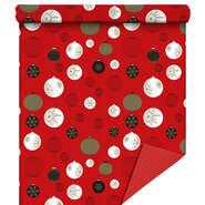 Papier cadeaux  Holly rouge  : Accessoires emballages