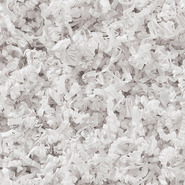 Frisure de papier kraft blanc : Accessoires emballages