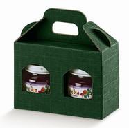 Carton 2 pots  hauteur 90mm : Bocaux