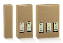 Coffrets carton huile d'olive  H 240 mm : Bouteilles