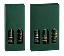 Coffrets carton H 320mm huile d'olive : Bouteilles