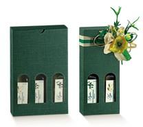 Coffrets carton  H 215mm huile d'olive : Bouteilles