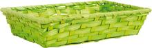 Corbeille bambou 25x15x5 : Corbeilles & paniers