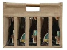 Sac jute 5 bouteilles : Bouteilles
