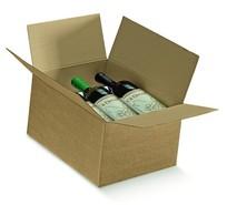 Caisse américaine 6 bouteilles : Bouteilles