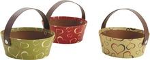 Minis paniers en carton : Corbeilles & paniers