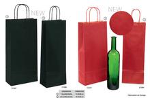 Les sacs bouteilles en kraft brun vergé  : Bouteilles