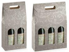 Damassé gris 2 et 3 bouteilles  : Bouteilles