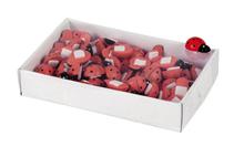Lot de 70 coccinelles 1.5cm : Accessoires emballages