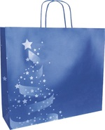 Sac Kraft Noël « Christmas Shiny » : Sacs