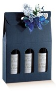 Milan Bleu 3 bouteilles : Bouteilles