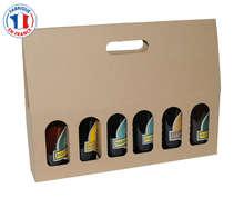 Achat de Coffret carton 6 bouteilles de bière 33cl
