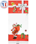 Lot de 100 Sachets Plats Xmas Gift  : Special celebration