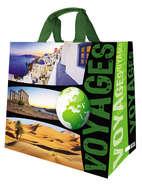 """Cabas polypro 33L """" Voyages """" : Sacs"""