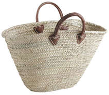 Sac Couffin en palmier : Collection revente