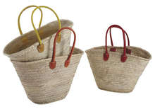Lot de 3 Sacs Marché en Palmier : Collection revente