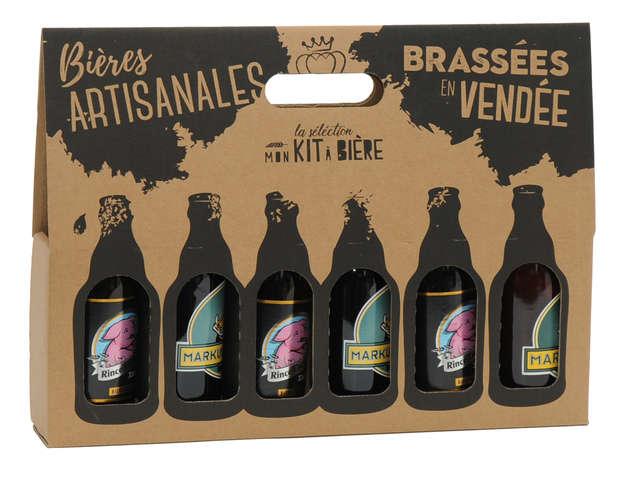 Emballages bières personnalisés : Bouteilles