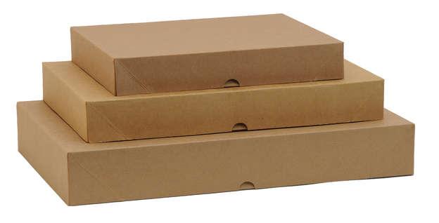 Boites Rectangulaires Papier Kraft : Boites