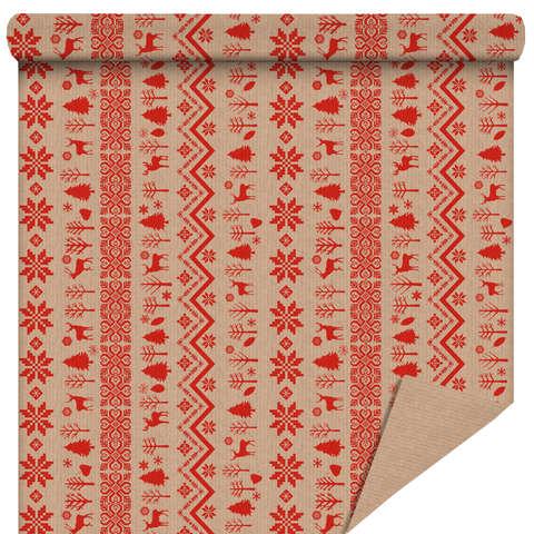 """Rouleau papier cadeau """"Norvège"""" : Accessoires emballages"""