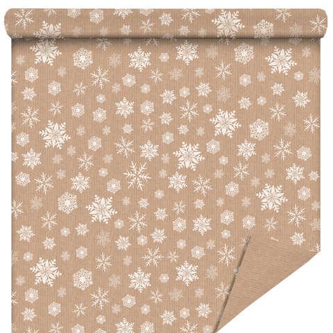"""Rouleau Papier cadeau """"Snow"""" : Accessoires emballages"""