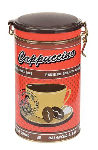 """Boite métal CAFE """"Cappuccino"""" : Boites"""