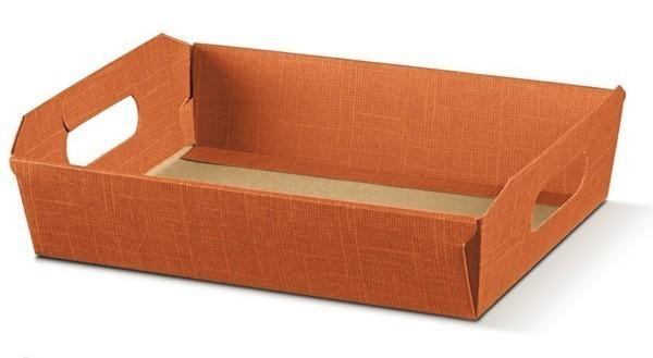 Corbeille carton  350x260x70mm : Corbeilles & paniers