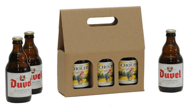 STEINIE - Coffret carton bière 33cl x 3 bouteilles : Bouteilles