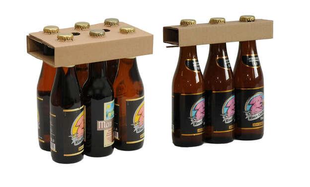 Collerette / Porte bouteille supérieur pour 33cl : Bouteilles