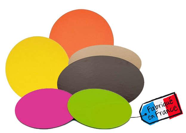 Support Gâteau Ronds double face Color's Collection : Boites