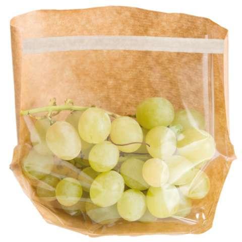 Sachets avec base et fenêtre auto fermeture 'turtle pack' : Sachets